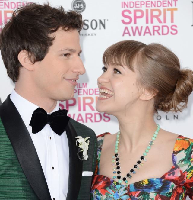 Explore Talent on Andy Samberg and Joanna Newsome Wedding