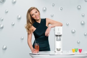 Scarlett Johansson on Super Bowl Commercial for SodaStream