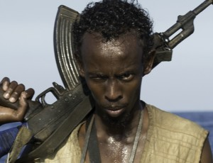 Oscar Nominee Barkhad Abdi as a Somalian Pirate